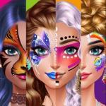 Face Paint Party Girls Salon