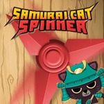 Samurai Cat Spinner