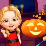 Sweet Baby Girl Halloween Fun